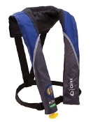Onyx M-24 - In Sight Manual Inflatable Life Jacket Blue/Grey