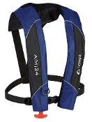 Onyx A/M-24 Automatic / Manual Inflatable Life Jacket Blue/Black