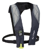 Onyx A-24 - In-Sight Automatic Inflatable Life Jacket Grey