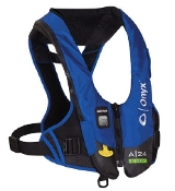 Onyx Impulse A-24 In-Sight Automatic Inflatable Life Jacket Blue